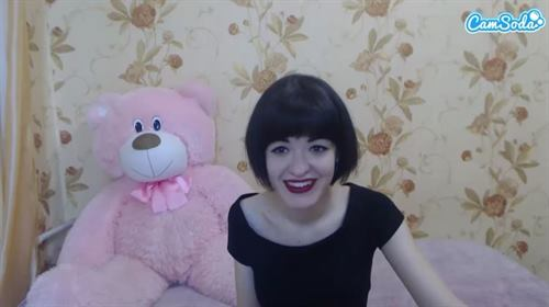 Romanian cam girl smiles for the masses on CamSoda.com