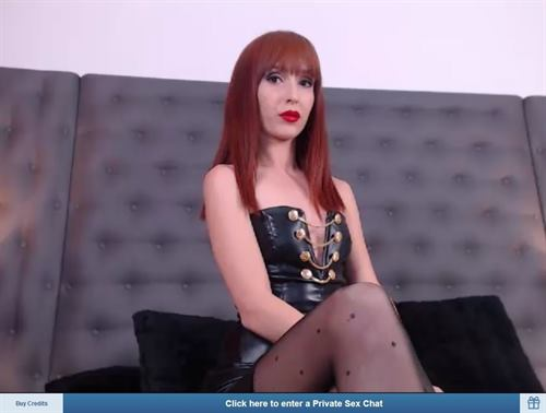 Forced feminization webcam chat on ImLvie.com